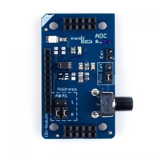 I2C-004 V1.00: I2C 8-Bit ADC Board