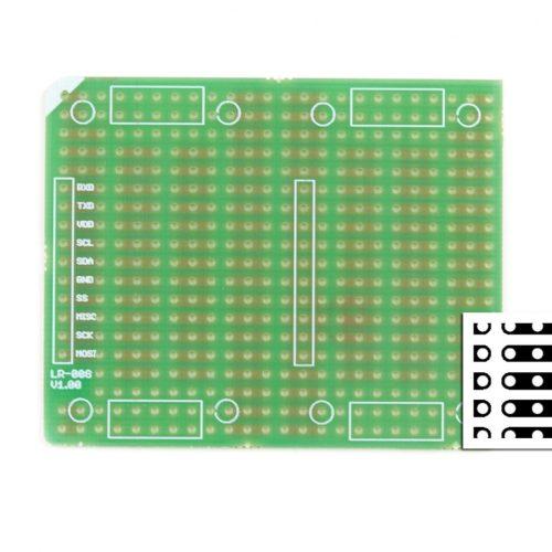 stack2Learn Punkt-Streifenrasterplatine, horizontal, 2,54RM, dop