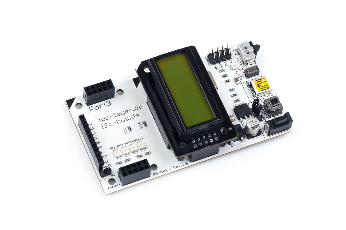 stack2Learn ZB-008 V1.00: LCD-Board mit DIPS082-HNLED