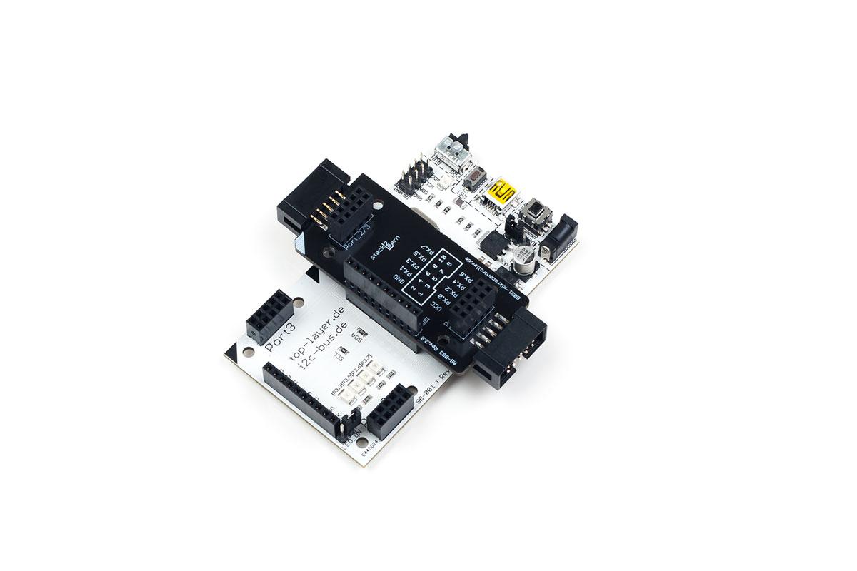 EST Adapterboard mit Wannenstecker