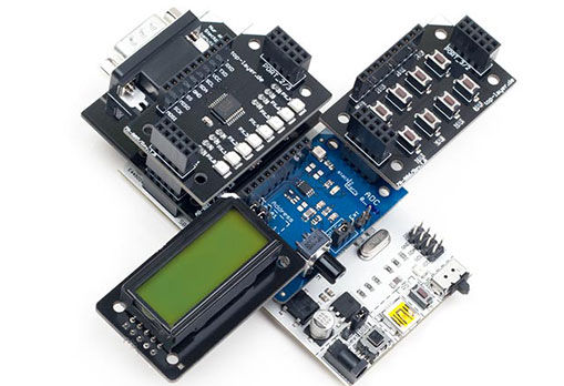 stack2Learn 8051 Mikrocontroller System